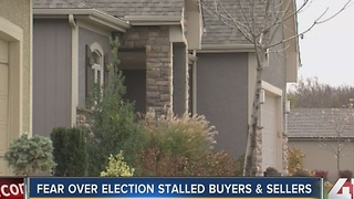 Fear over election creates stalled buyers and sellers - Video