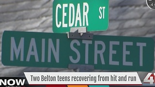 2 teens hurt after hit-and-run in Belton - Video