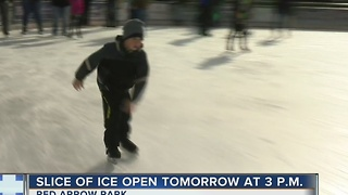 Slice of Ice Opens Tuesday - Video