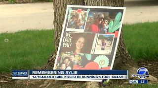 Rylie's parents living moment by moment after car crashed into Parker store, killing daughter - Video