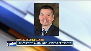 SUNY names ECC's 11th president - Video
