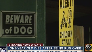 A 1-year-old child is dead after being hit by car in Phoenix - Video