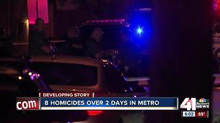 KC rattled after violent holiday weekend - 2 - Video