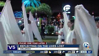 Early-morning ceremony remembers Pulse shooting victims - Video