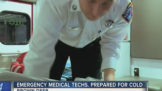 Local first responders ready for blast of Arctic air - Video