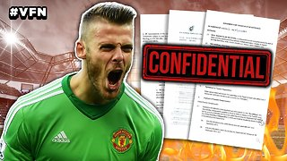 De Gea's Real Madrid Contract LEAKED | Viral Footy News - Video