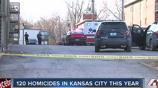 120 homicides reported in Kansas City this year - Video