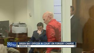 Green Bay Police officer accused of forging ex-wife's signature, selling car - Video