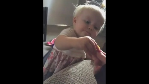 Toddler tries jalapeno pepper for first time