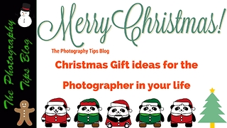 10 Christmas Gifts for Photographers - Video