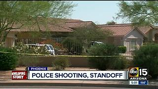 Police involved in shooting in north Phoenix - Video
