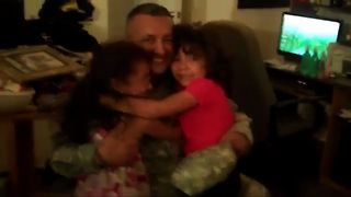 Dad Comes Home For Christmas - Video