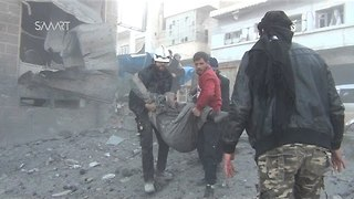 High Death Toll Feared Following Airstrikes on Outdoor Market East of Idlib - Video