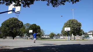 Mind-blowing basketball trick shot compilation