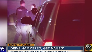 Police cracking down on drunk drivers - Video