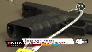 Lenexa PD encourages using gun locks - Video