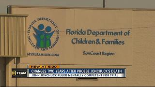 DCF makes changes two years after 5-year-old girl's death
