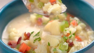 Cauliflower Chowder - Video