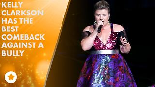 Kelly Clarkson, Gaga and Ed Sheeran stand up to bullies