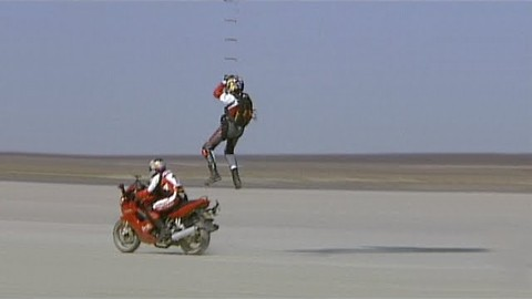 Motorcyle to Airplane Transfer