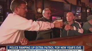 Police Ramping Up Patrols For New Years Eve - Video