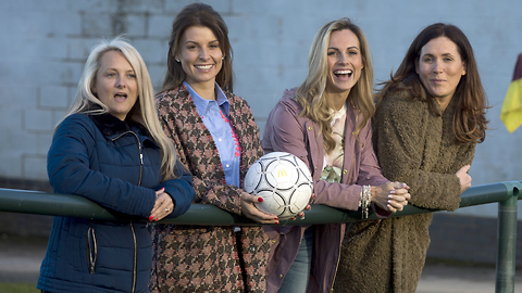 Coleen Rooney Launches McDonald's Football Mum Of The Year