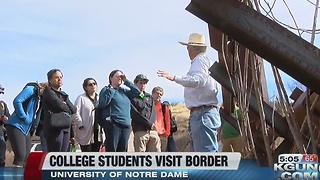Border Trip for Notre Dame Students - Video