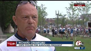 Cycling for cops: Remembering those who have lost their lives in the line of duty - Video