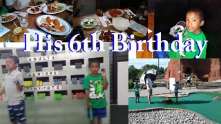 His 6th Birthday - Video