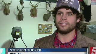 Hunter Talks About Record-Breaking Buck - Video