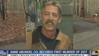 Anne Arundel County records first murder of 2017 - Video