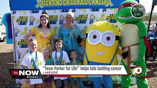 Team Parker for Life helps kids battling cancer - Video