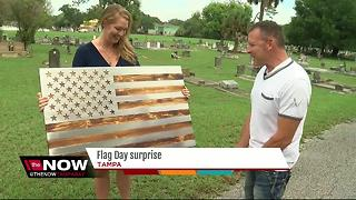 Flag Day surprise