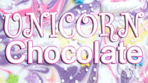 How To Make DIY Chocolate UNICORN Bark!