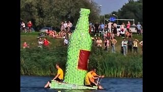 Milk Carton Boat Race - Video
