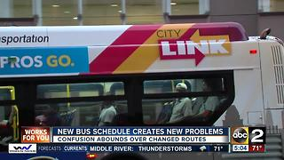 New bus schedule creates new headaches - Video