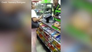 VIDEO: 7-Eleven clerk yells at customer for speaking Spanish - Video