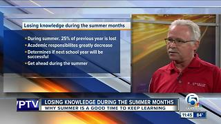 Importance of summer learning for students - Video