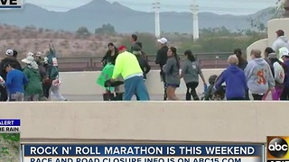 Ready to rock and roll in the marathon this weekend? - Video