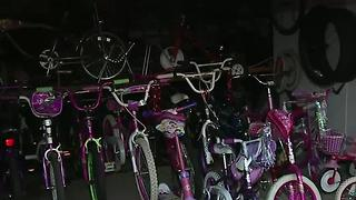 Henderson man builds bikes for kids with special needs - Video
