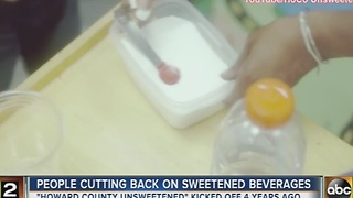 Fewer people in Howard County drinking sugary sodas - Video