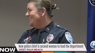 Woman to lead West Palm Beach Police Department - Video