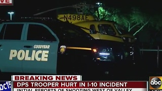 DPS trooper injured near Tonopah transferred to hospital - Video
