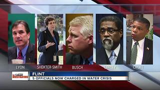 New charges filed in the Flint Water Crisis - Video