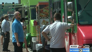 Food trucks to pay restaurant tax 4pm - Video