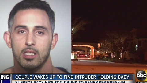 PD: Man found holding couple's baby at Tempe home