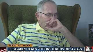 Government denies Veteran benefits for 14 years - Video