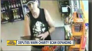 Pasco detectives searching for new suspect in veterans charity scam - Video
