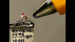 World's Smallest Rabbit Sculpture - Video