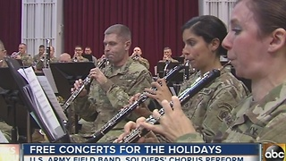 U.S. Army Field Band offers 5 free holiday concerts